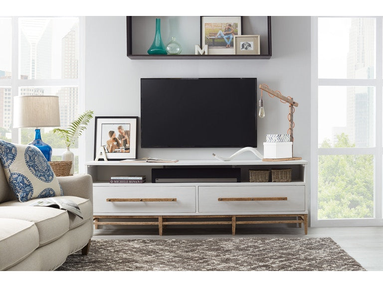 Hooker Furniture Home Entertainment Urban Elevation Low Entertainment Console