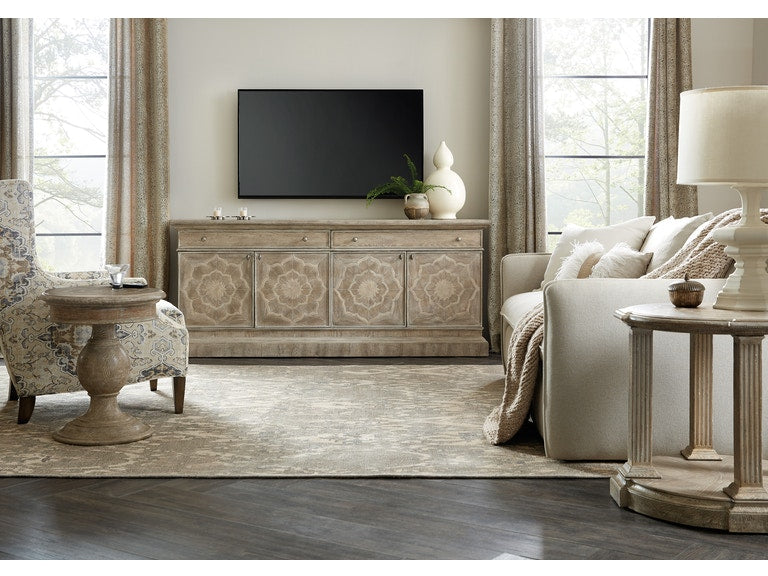Hooker Furniture Home Entertainment Dahlia Entertainment Console