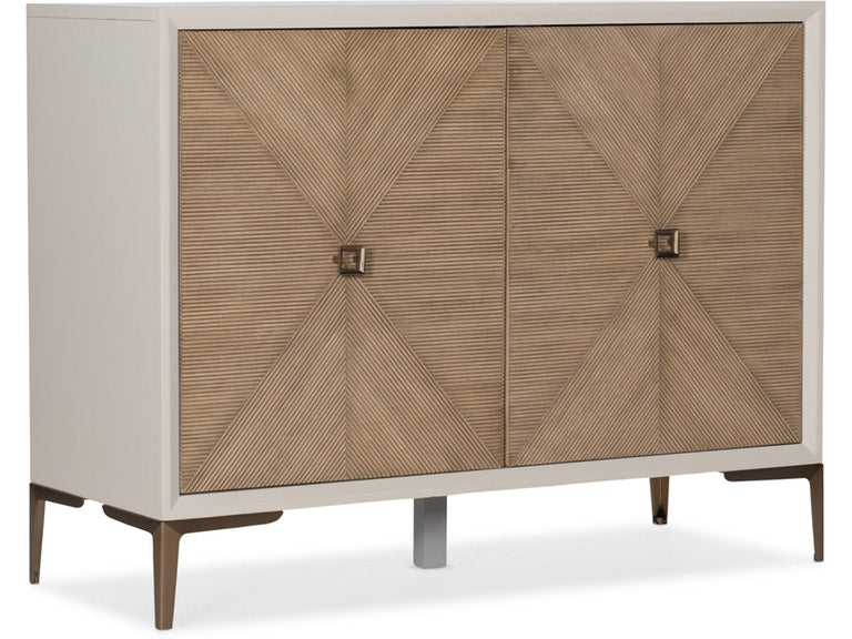 Hooker Furniture Living Room Melange Lisette Hall Chest