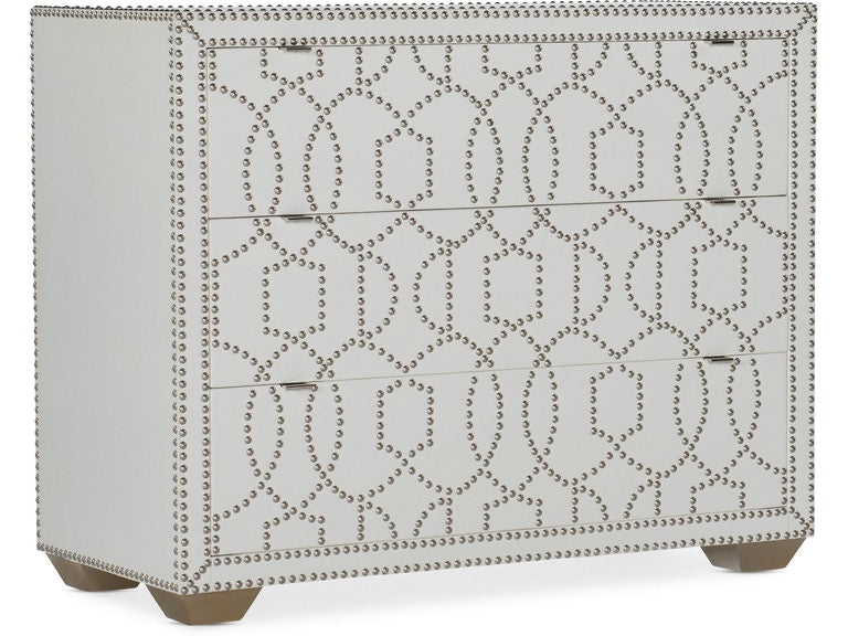 Hooker Furniture Living Room Melange Carlita Accent Chest