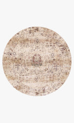 AF-01 IVORY/MULTI - Loloi Rugs - Rugs - Round