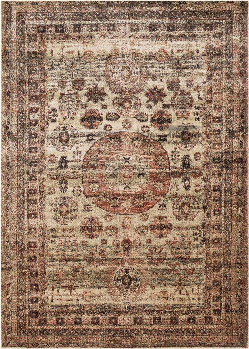 AF-03 CHAMPAGNE/MULTI - Loloi Rugs - Rugs
