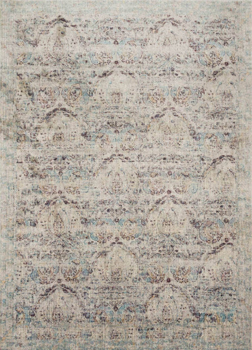 AF-05 SILVER/PLUM - Loloi Rugs - Rugs