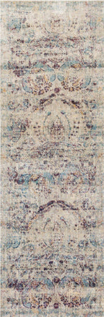 AF-05 SILVER/PLUM - Loloi Rugs - Runner