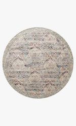 AF-05 SILVER/PLUM - Loloi Rugs - Round - Rugs