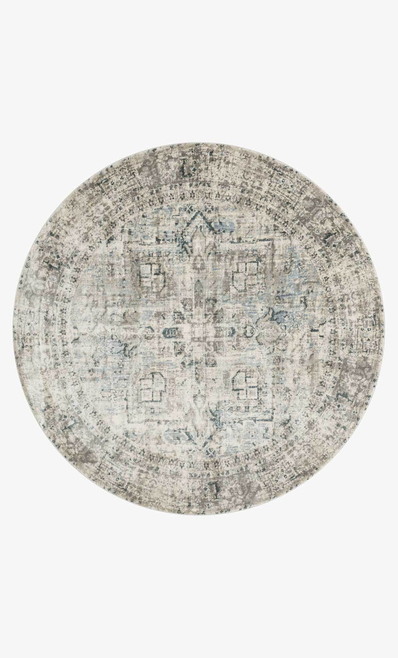 AF-20 BLUE/SLATE - Loloi Rugs - Rugs - Round