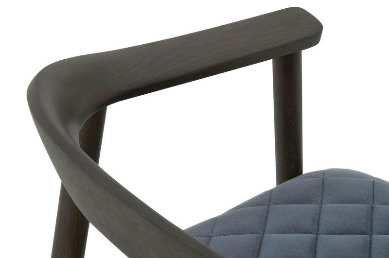 Bina Arm Chair - Brown Oak