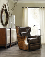 Hooker Furniture Living Room Wellington Swivel Club Chair