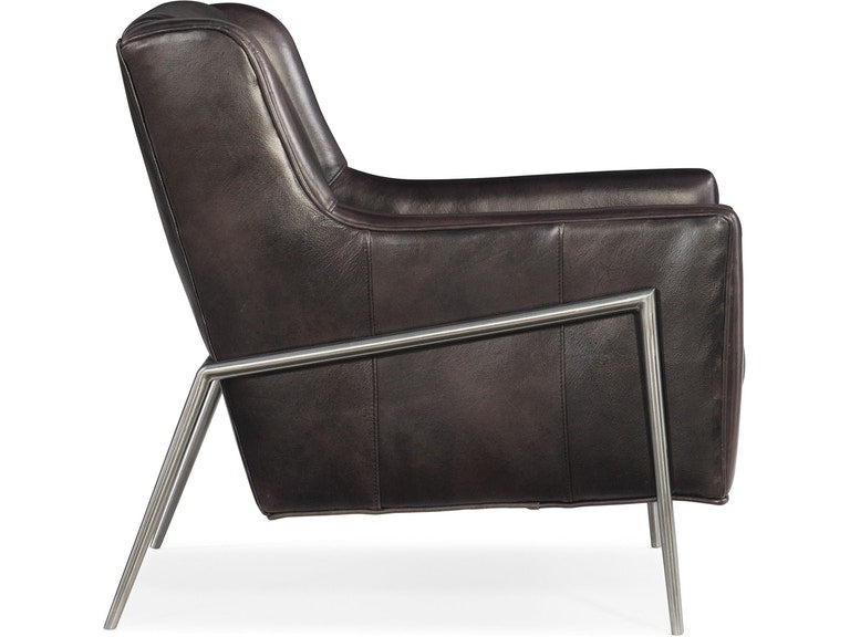 Hooker Furniture Living Room Hamilton Metal Accent Club Chair
