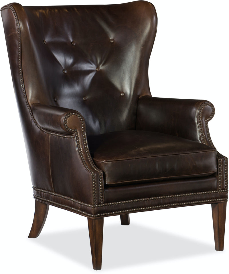Hooker Furniture Living Room Maya Wing Club Chair