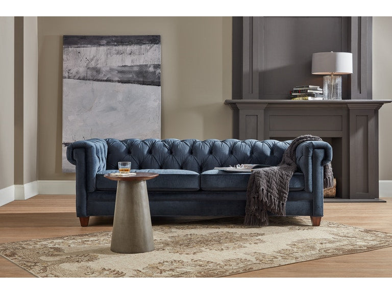 Hooker Furniture Living Room Chester Stationary Sofa