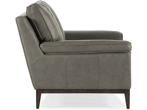 Hooker Furniture Living Room Kandor Leather Stationary Chair