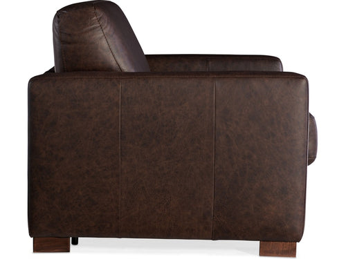 Hooker Furniture Peralta Arm Chair and Half w/ Sleeper w/ Memory Foam Mattress