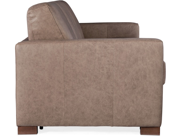 Hooker Furniture Living Room Peralta Sofa w/ Sleeper w/ Memory Foam Mattress