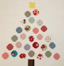 Load image into Gallery viewer, Festive Fir Christmas Quilt Pattern (PDF)