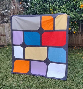 Parallel Path Quilt Pattern (PDF)