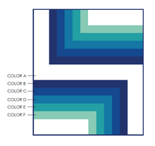 Load image into Gallery viewer, On the Edge Quilt Pattern (PDF)