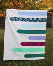 Load image into Gallery viewer, Sidestream Quilt Pattern (PDF)
