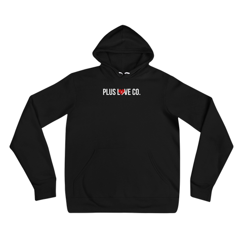Plus Love Co. Foundation Hoodie - Black