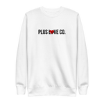 Plus Love Co. Foundation Sweatshirt - White