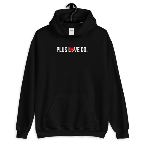Plus Love Co. Foundation Hoodie - Black - Big & Tall