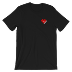 Plus Love Co. Heart Tee - Black