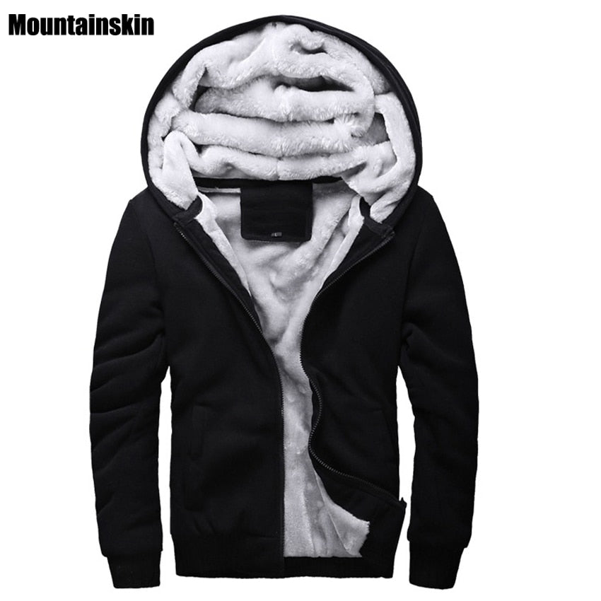 Mountainskin Faux Fur Lined Casual Hoodie