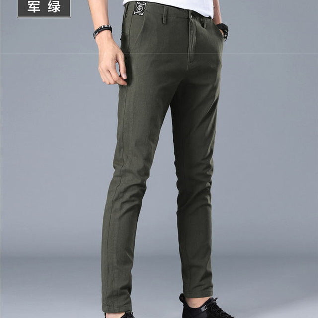 Casual Slim Fit Chino Pants