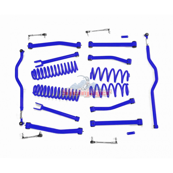 Steinjager J0044930 Jeep Wrangler JK Lift Kit 2007-2018 4 Inch Southwest Blue