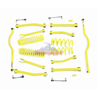 Steinjager J0044932 Jeep Wrangler JK Lift Kit 2007-2018 4 Inch Yellow