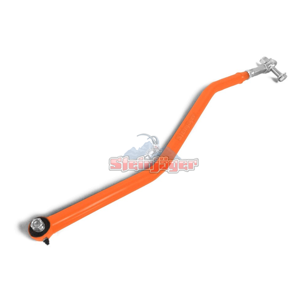 Steinjager J0046141 Jeep Wrangler TJ Track Bar 1997-2006 Adjustable DOM Fluorescent Orange