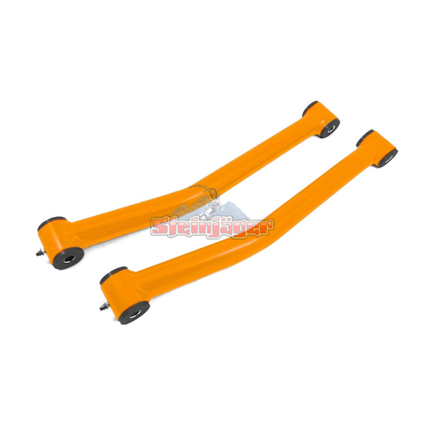 Steinjager J0046742 Jeep Wrangler JK Control Arms 2007-2018 0-2.5 Inch Lift Control Arms, Front Lower Fluorescent Orange