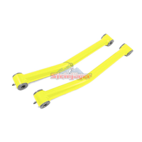Steinjager J0046997 Jeep Wrangler JK Control Arms 2007-2018 2.5-4.0 Inch Lift Control Arms, Front Lower Yellow