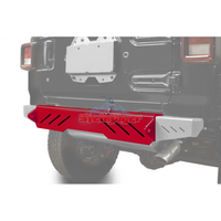 Steinjager J0048620 Jeep Wrangler JL Bumpers 2018 to Present Bumper, Rear Cap Style Red