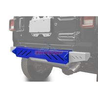 Steinjager J0048621 Jeep Wrangler JL Bumpers 2018 to Present Bumper, Rear Cap Style Southwest Blue