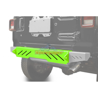 Steinjager J0048624 Jeep Wrangler JL Bumpers 2018 to Present Bumper, Rear Cap Style Neon Green