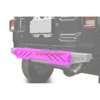 Steinjager J0048634 Jeep Wrangler JL Bumpers 2018 to Present Bumper, Rear Cap Style Hot Pink