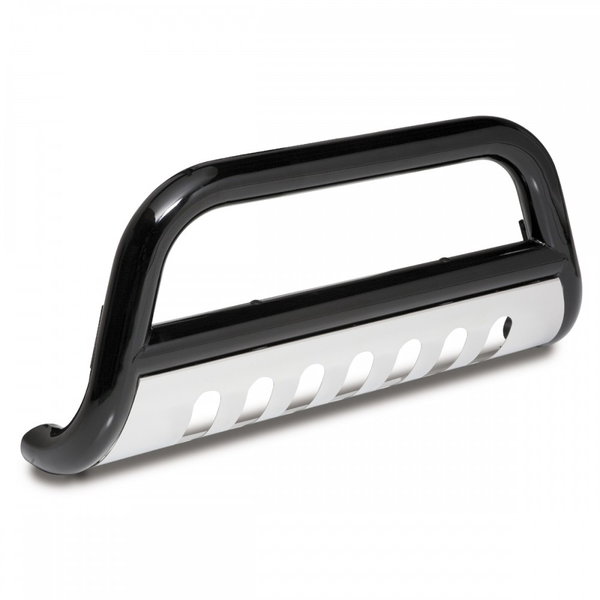 Bull Bar, 3 Inch, Black and Stainless for 2007-09 Jeep Wrangler JK Part #: 82001.27