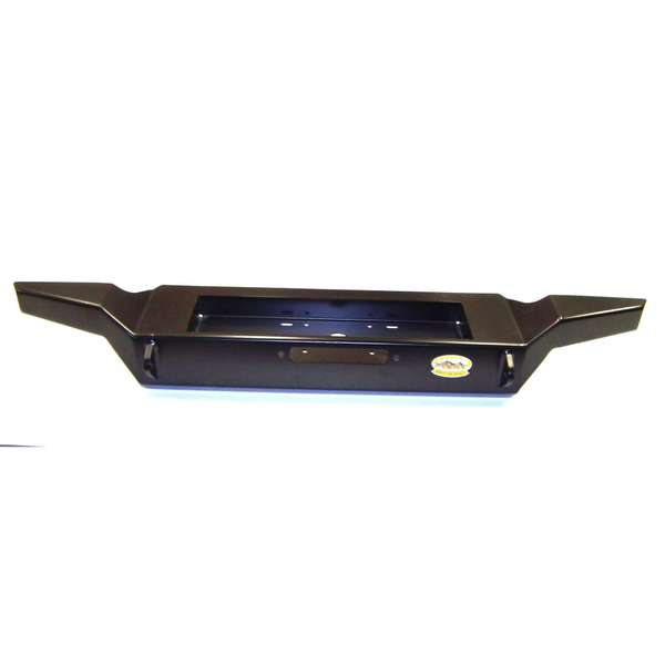 JFBHC200- M.O.R.E. Rock Proof Bare Steel High Clearance Front Bumper Jeep Wrangler YJ 1987-1995