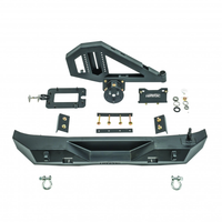 GEN 2 Aftershock Rear Bumper and Tire Carrier, 07-18 Jeep JK Part #: HPG-43-20202