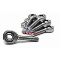 Steinjager J0014828 Universal Rod Ends Inch Male Chrome Moly Housing, Nylon Race 3/8-24 RH 10 Pack