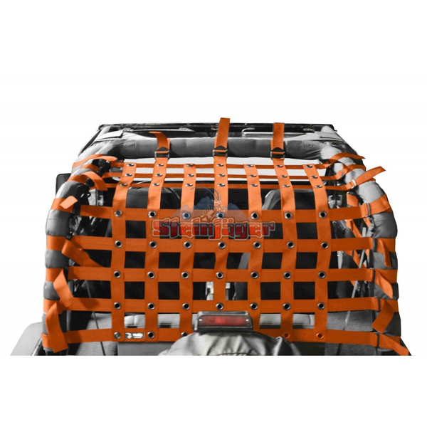 Jeep Wrangler YJ Cargo Net 1987-1995 Orange J0047028