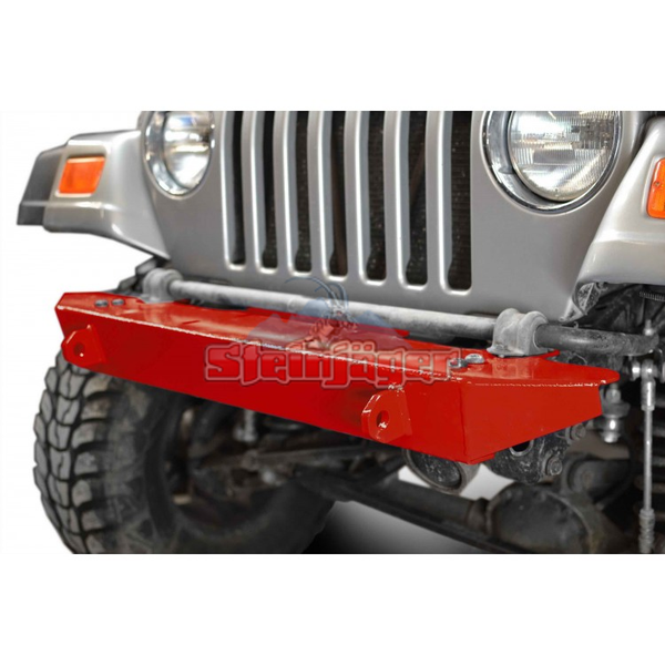 Steinjager Jeep Wrangler TJ Front Bumper 1997-2006 Red Baron J0048725