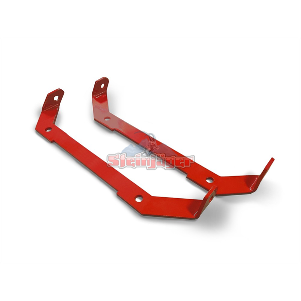 Steinjager J0049208 Jeep Wrangler TJ Harness Lap Belt Mount 1997-2006 Front Seat Red