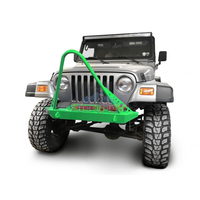 Steinjager J0049291 Jeep Wrangler TJ Front Bumper with Stinger 1997-2006 Neon Green