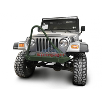 Steinjager Jeep Wrangler TJ Front Bumper with Stinger 1997-2006 Locas Green J0049293