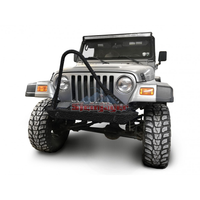 Steinjager J0049295 Jeep Wrangler TJ Front Bumper with Stinger 1997-2006 Texturized Black