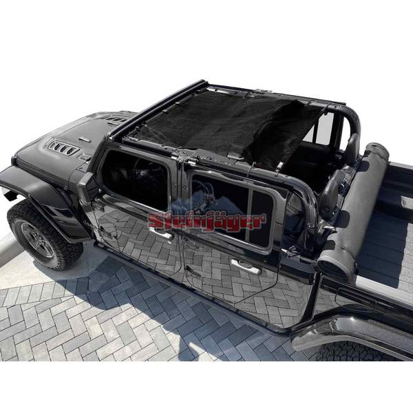 Steinjager Gladiator JT Tops, Fabric Teddy Fits Jeep Gladiator JT, 4 Door J0049320