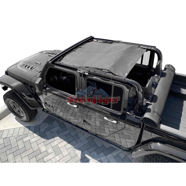 Steinjager Gladiator JT Tops, Fabric Teddy Fits Jeep Gladiator JT, 4 Door J0049324
