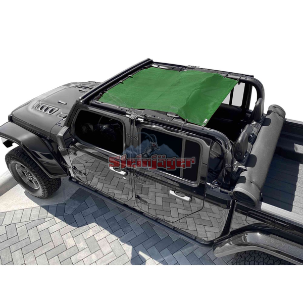Steinjager Gladiator JT Tops, Fabric Teddy Fits Jeep Gladiator JT, 4 Door J0049326